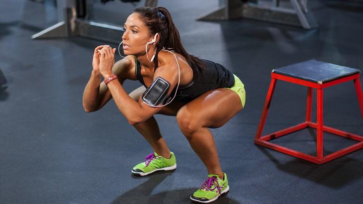 Karina Baymiller's Plyo Legs Workout