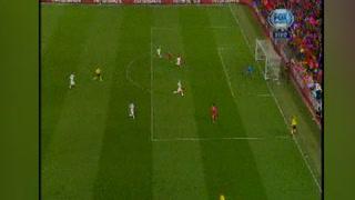 Los dos pases de la muerte de Salah en el Liverpool vs Roma