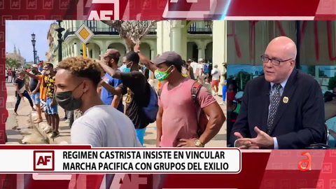 Televisión cubana intenta vincular a Yunior García con Orlando Gutierrez para acusarlo de ser pagado por exiliados cubanos