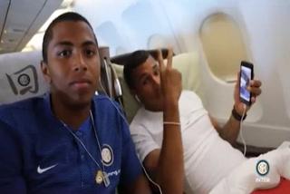 El Inter promocionó video de viaje a China con el hondureño Rigoberto Rivas