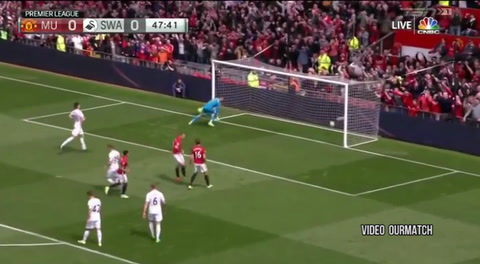Manchester United 1-1 Swansea City (Premiere League)