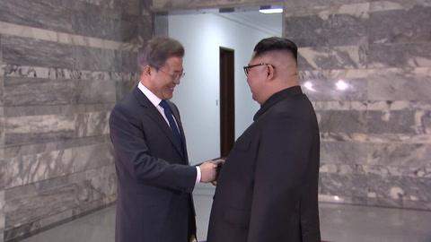 Líderes coreanos se reúnen inesperadamente