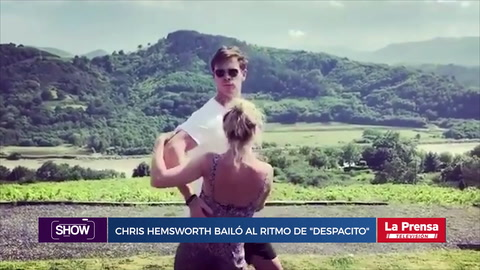 Show, resumen del 19-7-2018. Chris Hemsworth bailó al ritmo de despacito