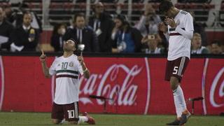 Con goles de Marco Fabián y Layún, México está derrotando 2-0 a Islandia