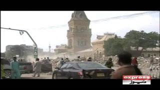 کراچی کے شہری جلد ایمپریس مارکیٹ کے گھڑیال کی آواز دوبارہ سنیں گے