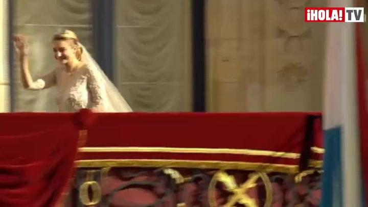 Los luxemburgueses, eufóricos con sus príncipes: \'¡Que se besen, que se besen!\'