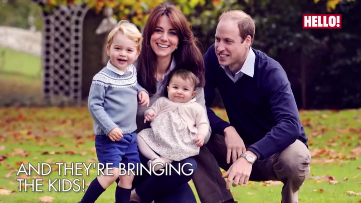 The Cambridges are going to Canada!