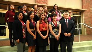 Garnet and Gold Scholar Society induct 17 new students