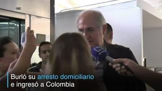 Alcalde de Caracas pide auxilio tras fugarse de Venezuela