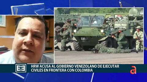 Human Rights Watch acusa el Gobierno  Venezolano de ejecutar civiles en frontera con Colombia