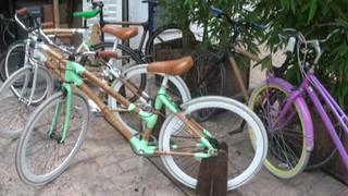 Bici de bambú, una solución sostenible hecha en México