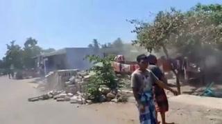 Sismos de magnitud 6,3 y 6,9 en la isla indonesia de Lombok