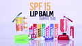 SPF 15 Lip Balm w/ White Tube