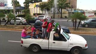 Marathón festeja la novena con caravana por las calles de San Pedro Sula