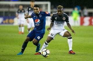 Xolos de Tijuana vence 1-0 a Motagua con gol de Nacho Riveros en el choque de ida de la Concachampions