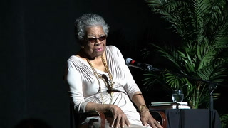 Maya Angelou speaks at FSU