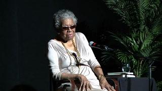 Maya Angelou speaks at FSU