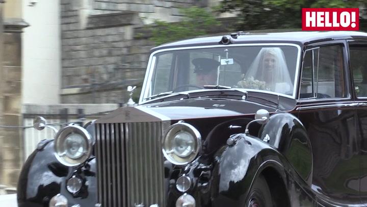 Lady Gabriella Arrives for her Wedding