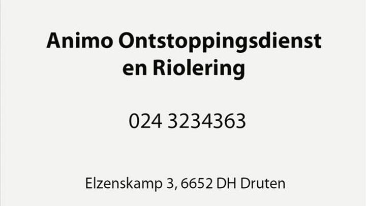 Animo Ontstoppingsdienst en Riolering - Video tour
