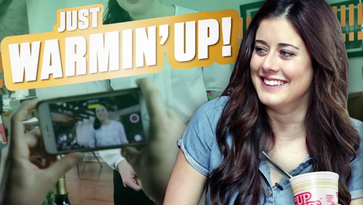 Cup Noodles & Comedy With Manon Mathews [JUST WARMIN' UP]