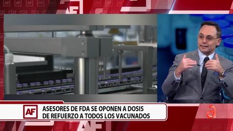 Un panel de expertos de la FDA de EEUU descarta la tercera dosis para la población mayor de 16 años