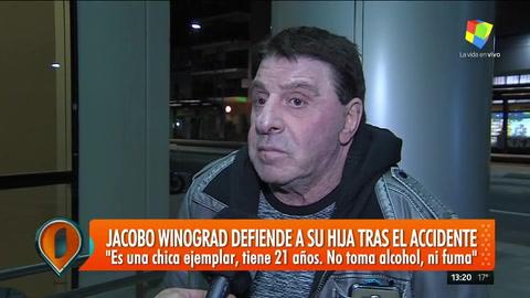 La hija de Jacobo Winograd se metió en contramano y atropelló a 4 personas