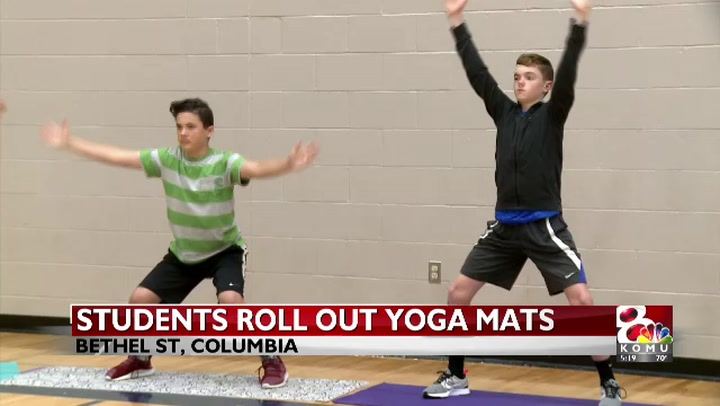 Students use yoga to learn to calm down and raise their self-esteem