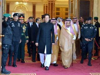 وزیراعظم عمران خان کی سعودی فرمانروا شاہ سلمان سے ملاقات