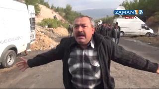 Ermenek'te madenci yakınından büyük tepki