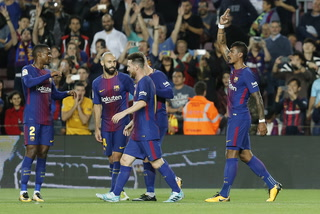Barcelona derrota 6-1 al Eibar en una noche brillante de Lionel Messi