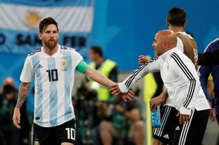 Escándalo: Filtran fuerte discusión entre Messi y Sampaoli en Argentina