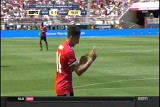¡Lingard pone a ganar al United ante el Real Madrid en Santa Clara!