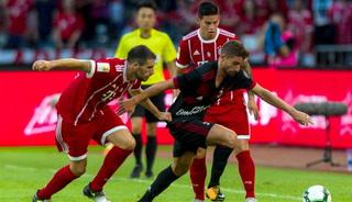 Sorpresiva paliza que el AC Milán receta al Bayern Munich de James y Ancelotti