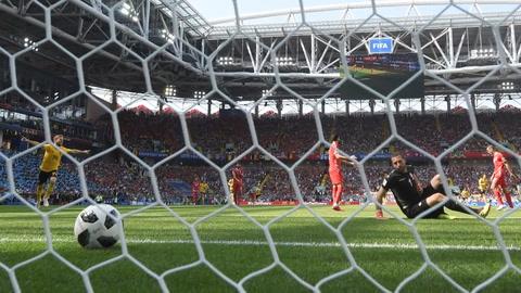 Bélgica golea 5-2 a Túnez y se acerca a octavos