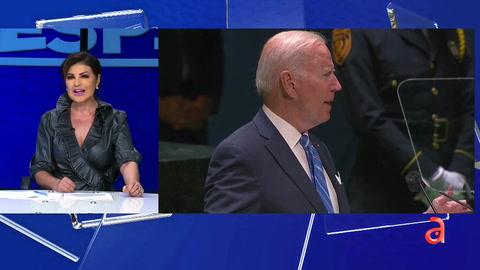 Marian de la Fuente: Biden raya la hipocresía en su discurso en la ONU