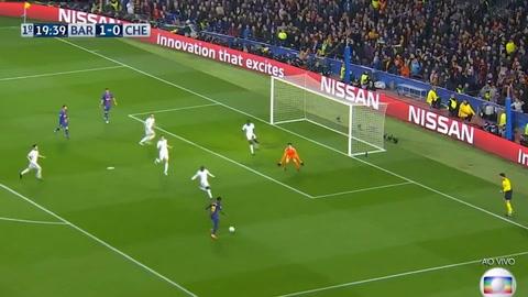 El primer gol de Dembélé con el FC Barcelona