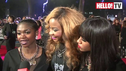 X-Factor group Miss Dynamix talk to HELLO! about Sese\'s baby news and Gary\'s reaction