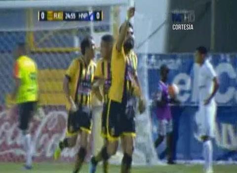 Gol de José Arévalo al Honduras Progreso (Liga Nacional)