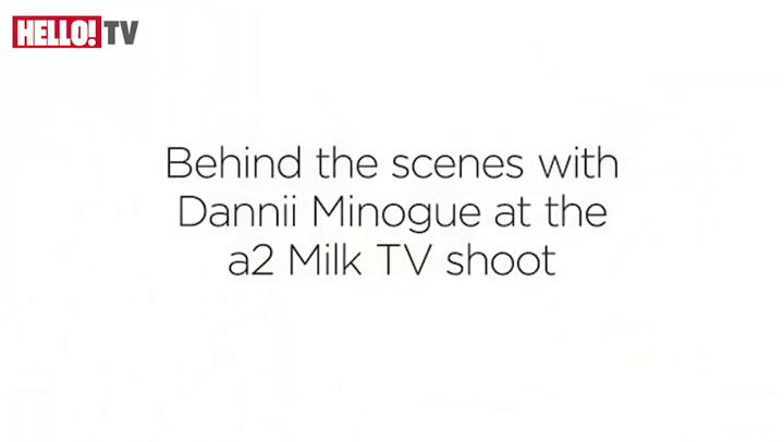 Behind the scenes with Dannii Minogue