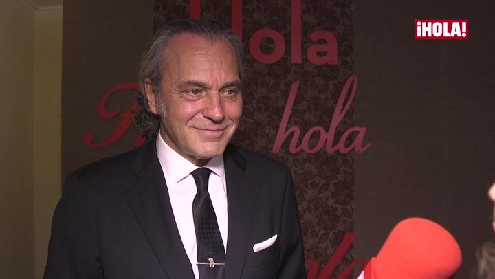 José Coronado y Emma Suárez recuerdan a Bimba Bosé