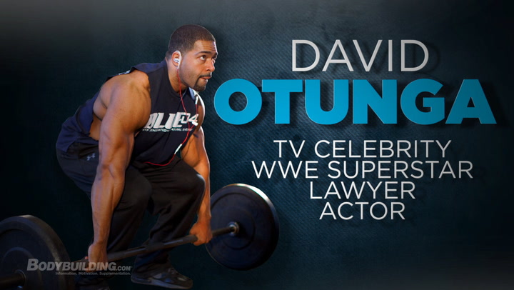 David Otunga's Training & Fitness Program