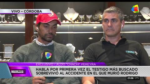 La verdad tras el accidente de Rodrigo