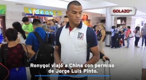Rony Martínez se marchó ilusionado a China
