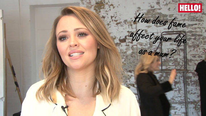 Kimberley Walsh on how fame has affected her life as a mum and why all mums are superstars.mp4