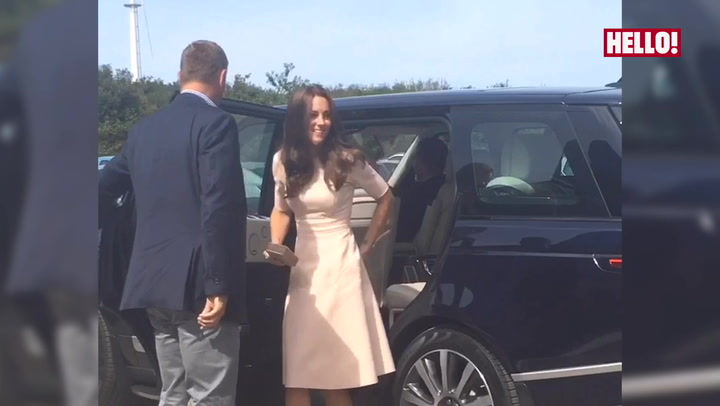 Prince William and Kate embark on their mini Cornish tour