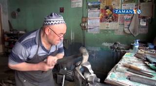 Unutulmaya yüz tutmuş bir meslek: Keçiboynuzundan bıçak üretimi