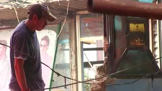 Habitantes de Tlatempa se organizan tras impacto de sismo