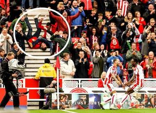 La foto viral en la celebración del gol de Jesé