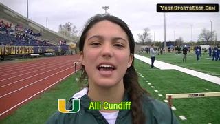 Cundiff Wins Hurdle Events at Murray