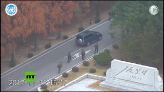 Video capta fuga de un desertor norcoreano a Corea del Sur